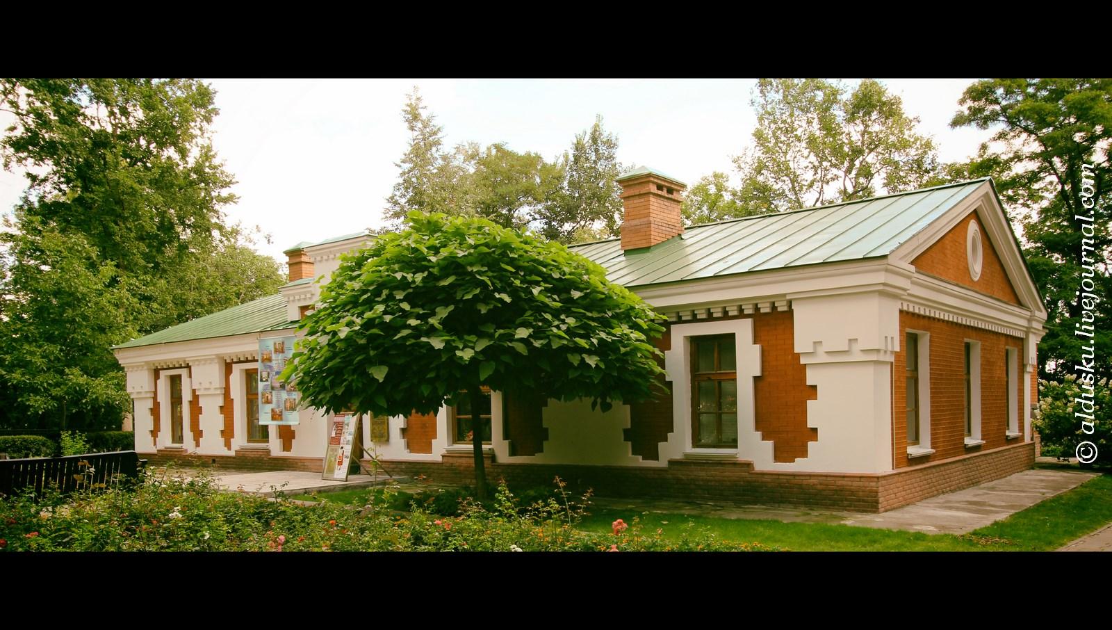 Здание филиала Ветковского музея