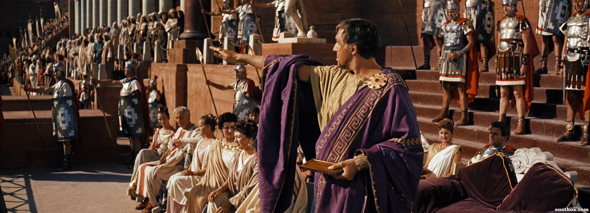 Иуда сочувствует борьбе своего народа за освобождение, а мессала требует, чтобы тот предал своих соотечественников.