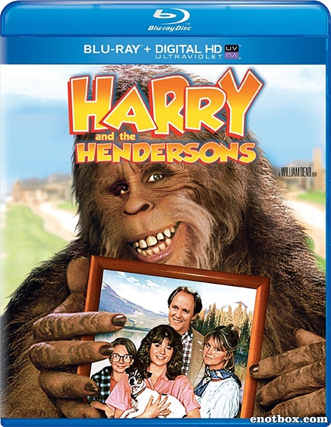 Гарри и Хендерсоны / Harry and the Hendersons (1987/BDRip/HDRip)