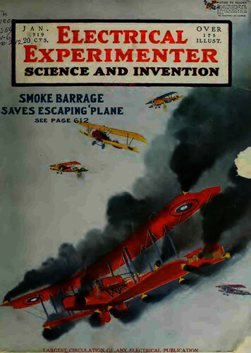 Electrical Experimenter: 1919 January - - Book Cover