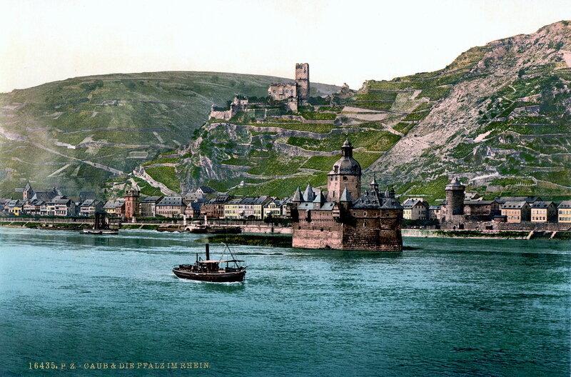 Пфальцграфенштейн и Гутенфельс, конец XIX века