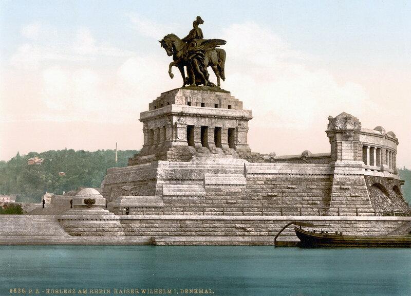 памятник Вильгельму I, конец XIX века