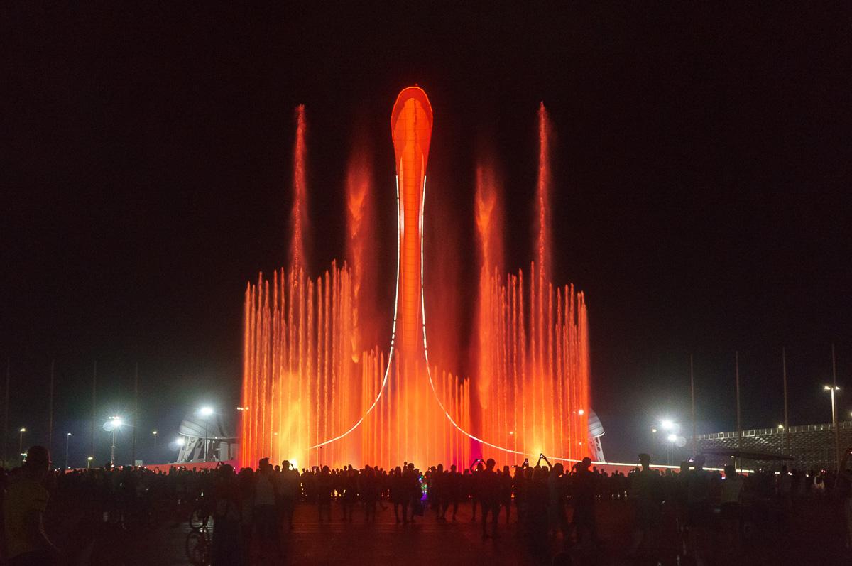 Поющий фонтан, Олимпийский парк, Сочи фото 13