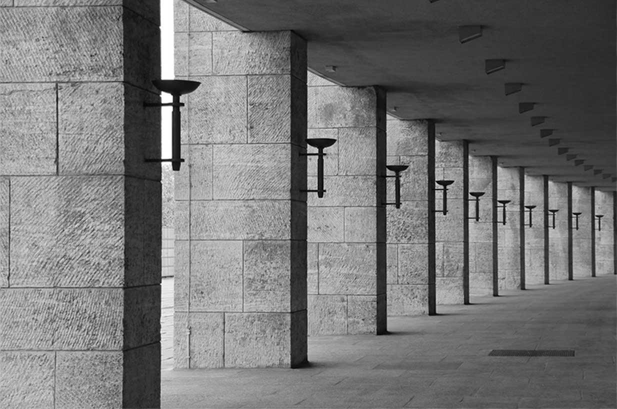 Роберт Бош (Robert Bosch) Третий Рейх стадион Германия
