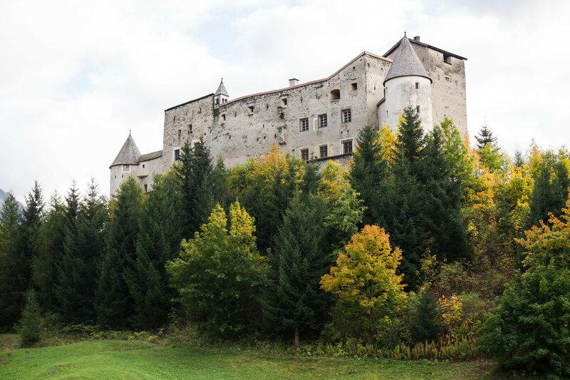 замок Naudersberg, Альпы, Австрия
