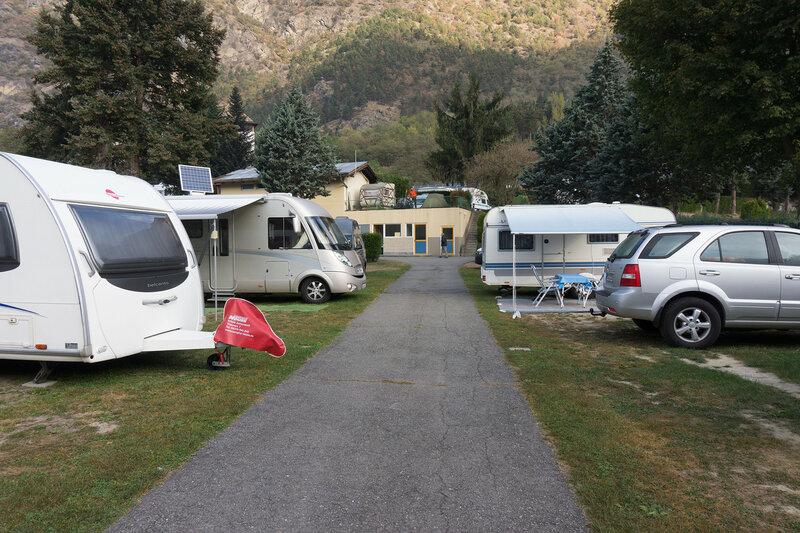 ночевка в кемпинге в палатке в австрии