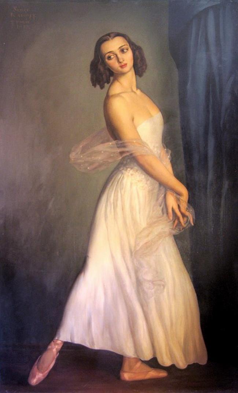 Саша Лио. <br ></img>Балерина.