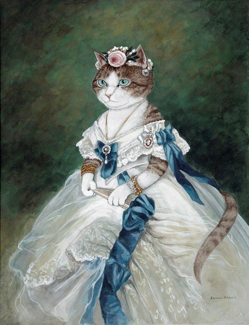 Картинки кошка принцесса
