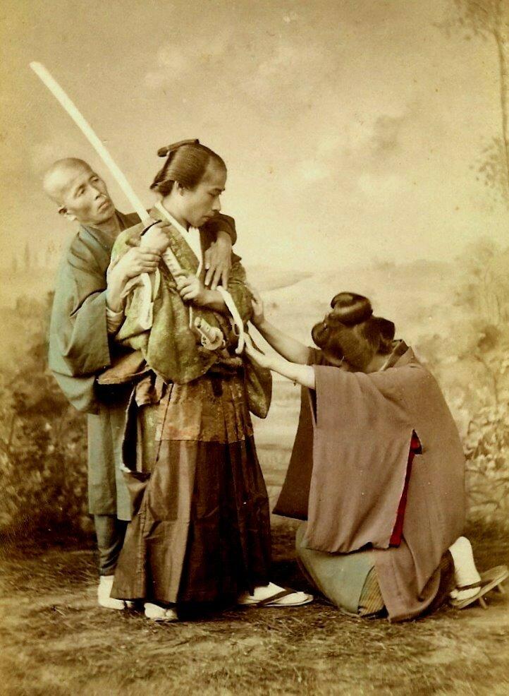Самурай и гейша