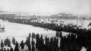 Челябинск. Митинг на площади Революции. 1923