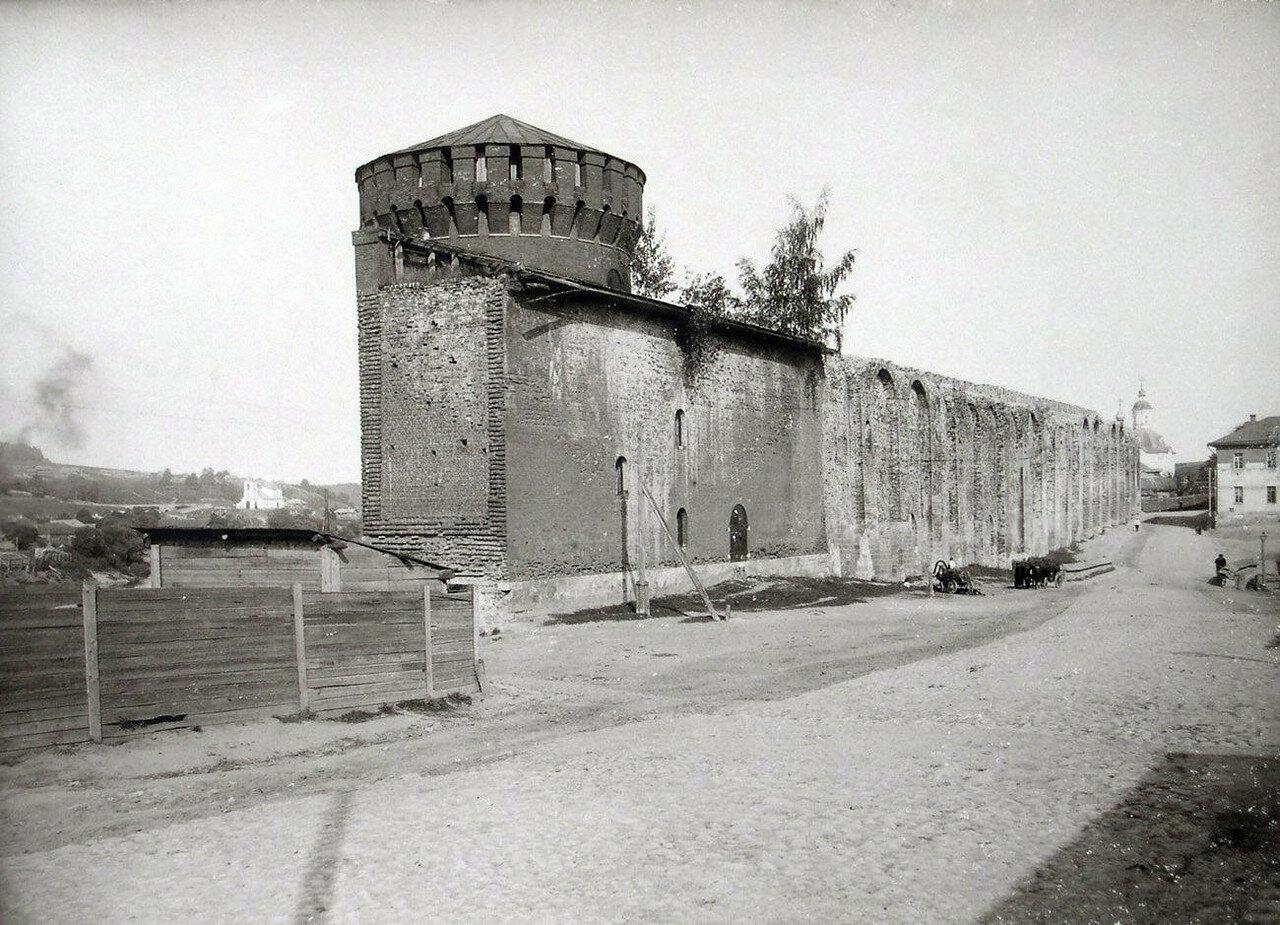 Костыревская башня и Армянская улица. 1901