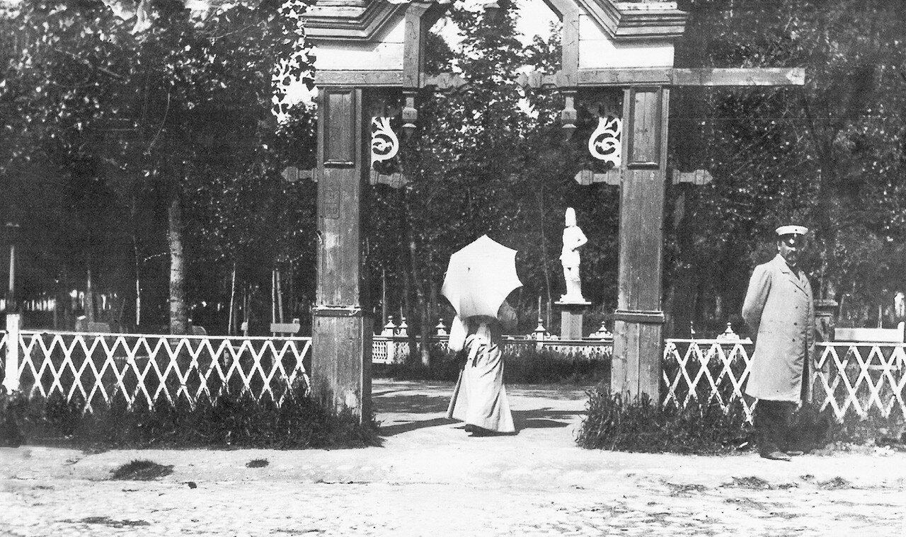 Вход в сад Блонье. 1900-е