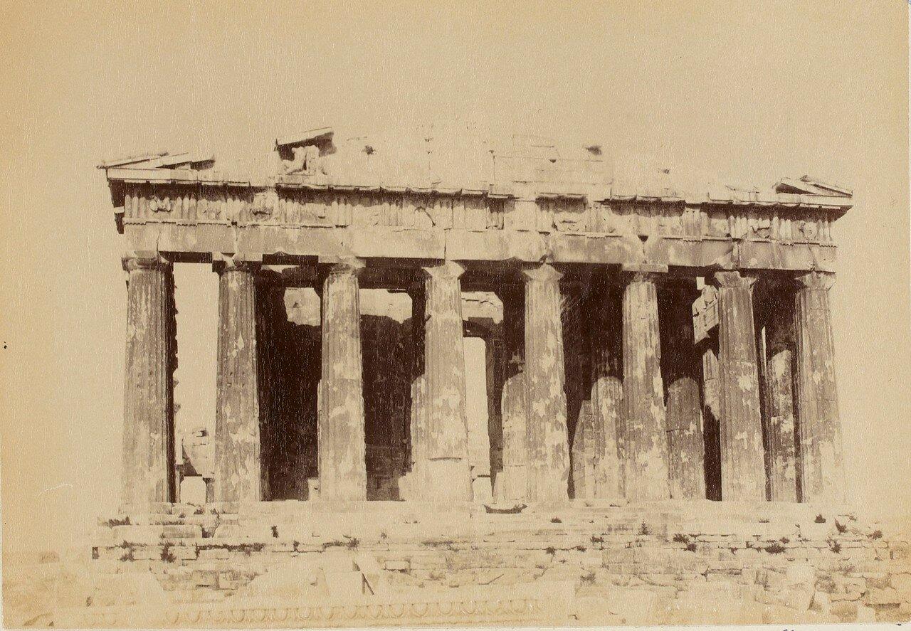 76. Афины. Парфенон. Фасад