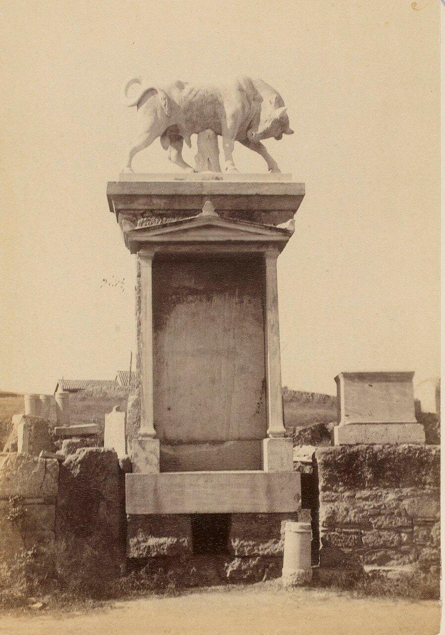 67. Афины. Кладбище Керамик. Стела Дионисия