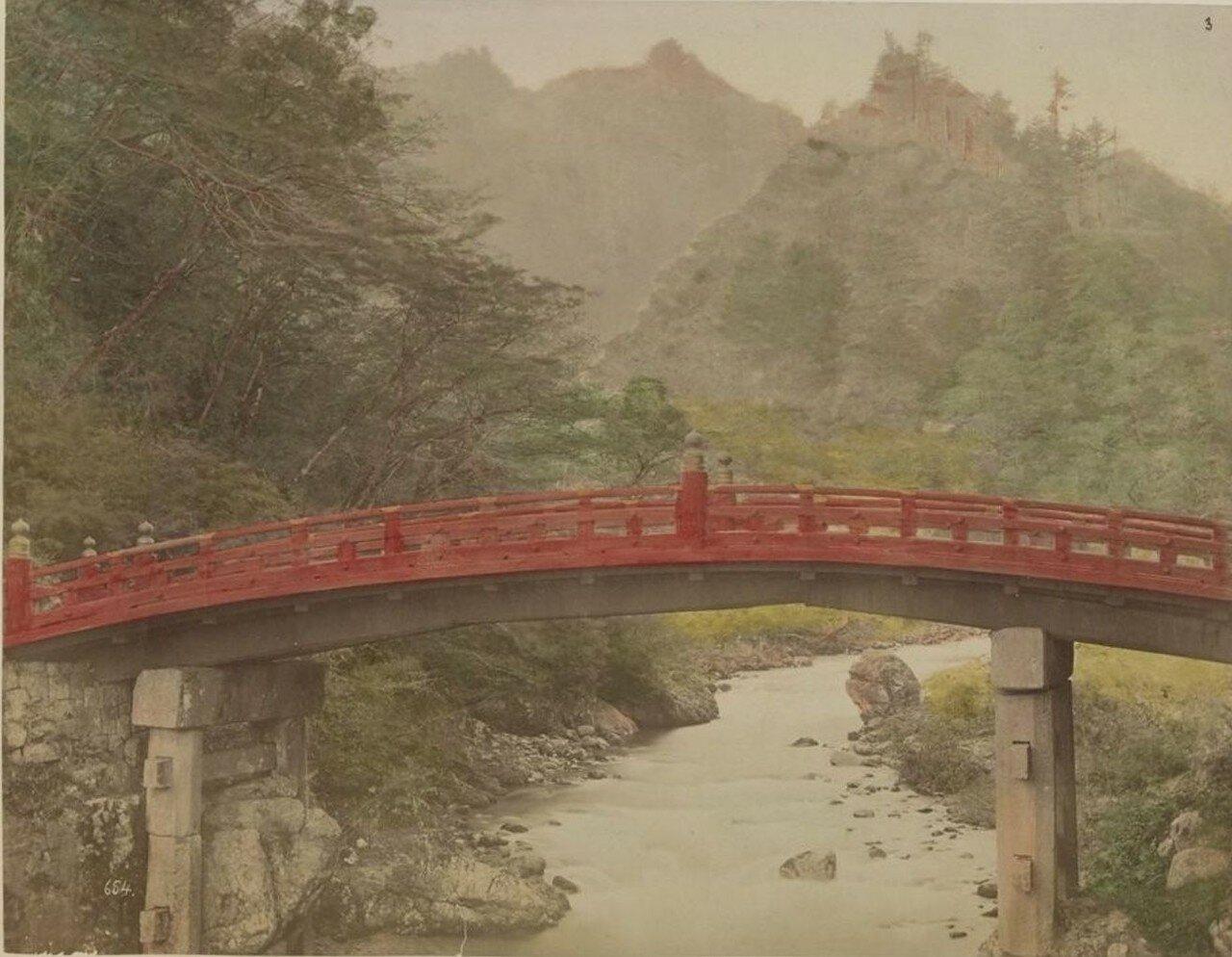Никко. Вид Священного моста