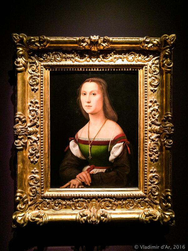 Рафаэль Санти. Женский портрет (Немая). 1507 год.