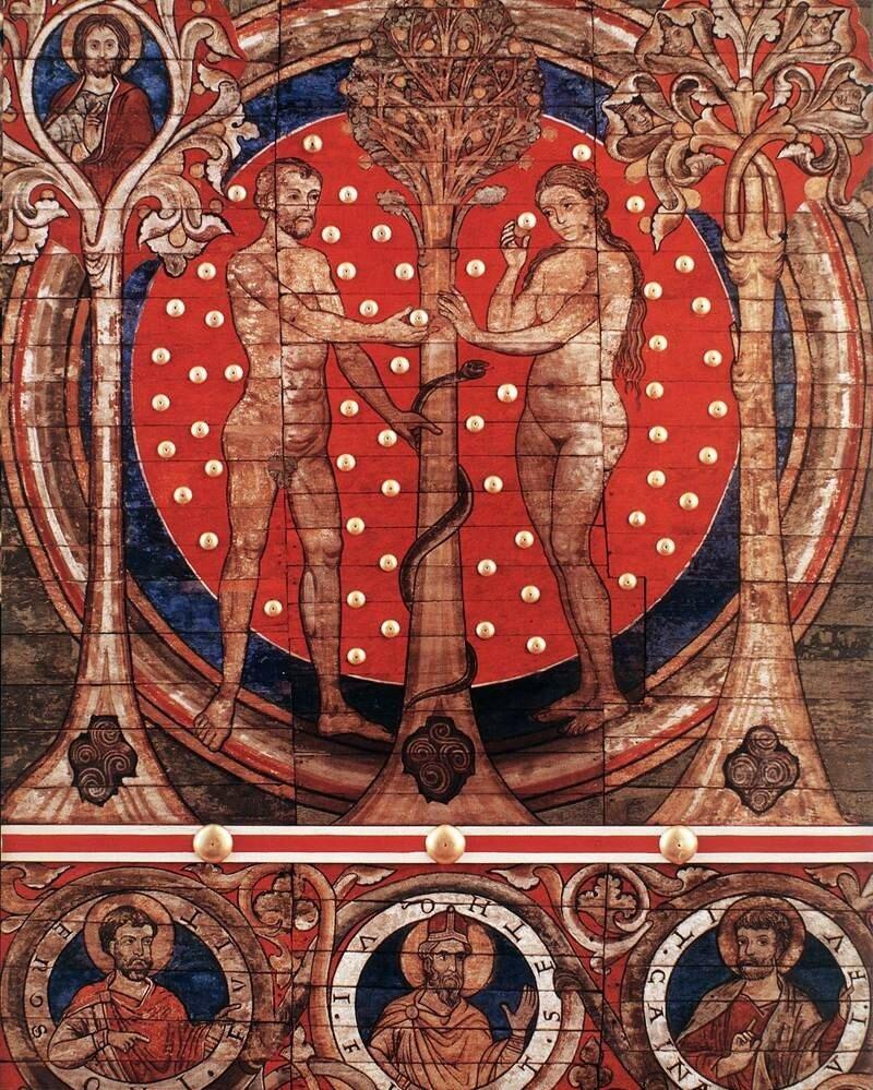 St Michael, Hildesheim 1225-1250.jpg