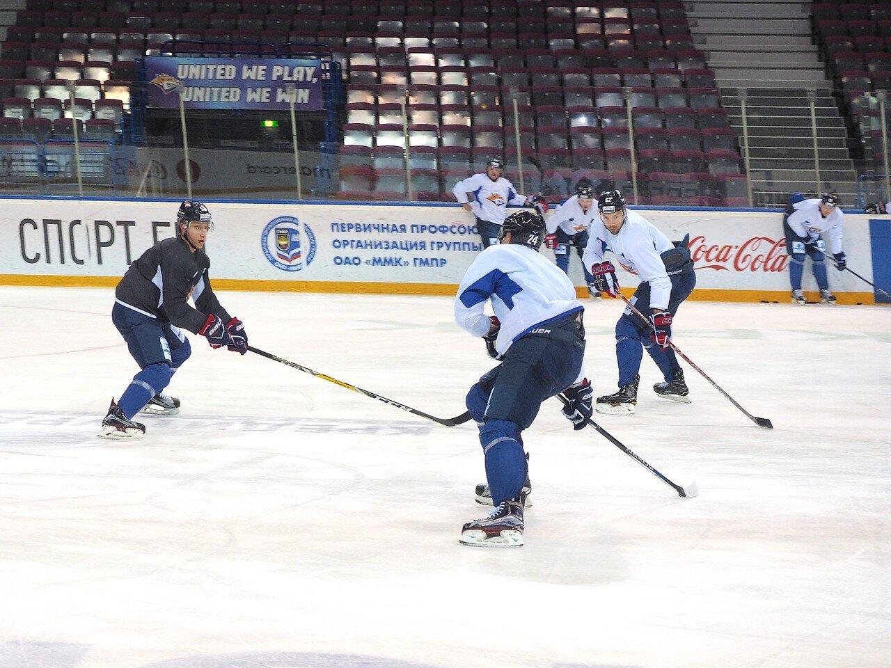 29 Открытая тренировка перед финалом плей-офф восточной конференции КХЛ 2017 22.03.2017