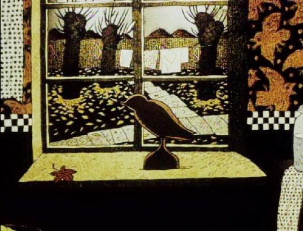 1996 - Птица в окне.JPG