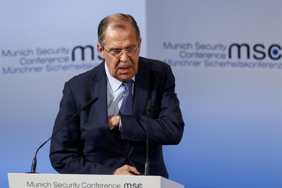 Выступление Лаврова на Мюнхенской конференции по безопасности 18.02.17.png