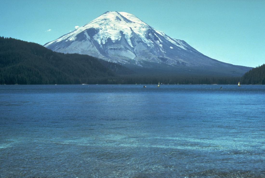 Самое катастрофическое извержение вулкана в США