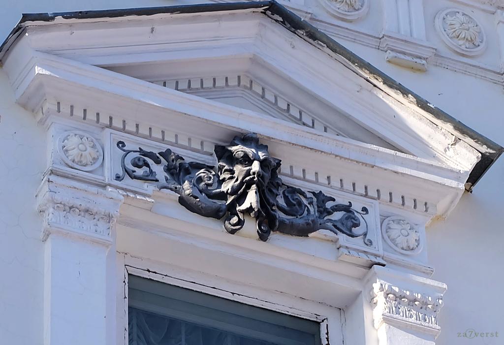 Дом-особняк М.А. Павлова в Шуе, внешний декор, фасад