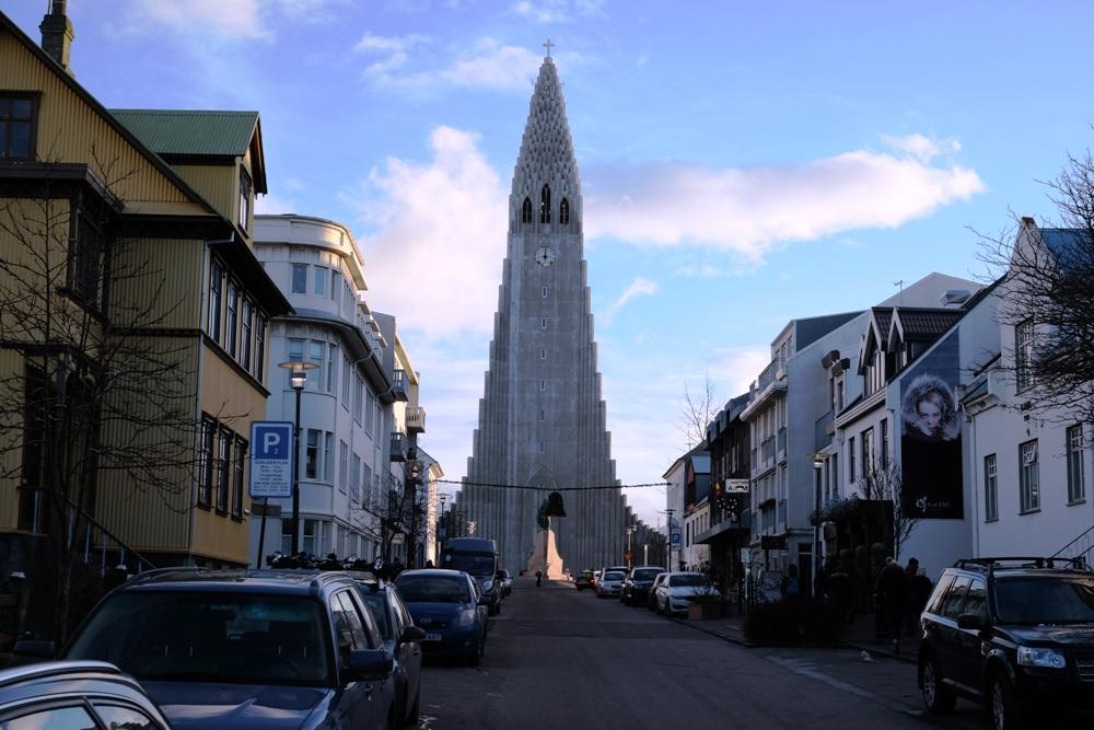 Рейкьявик. Памятник Еванутым
