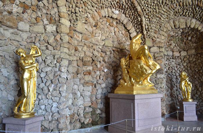 статуи_в_Нижнем_гроте_statui_v_Nizhnem_grote
