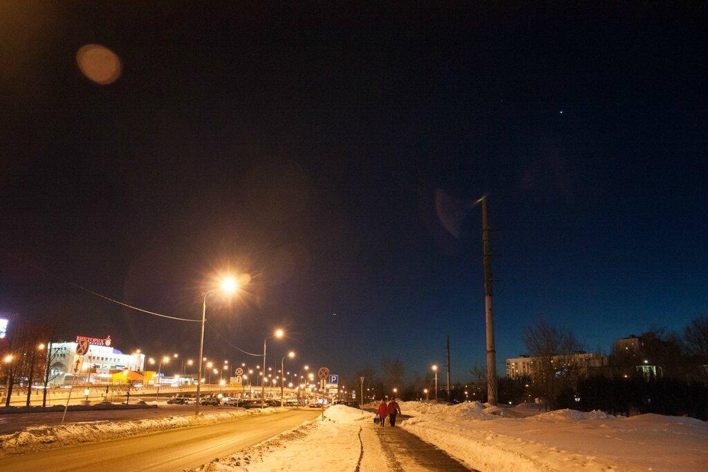 МКС над Москвой