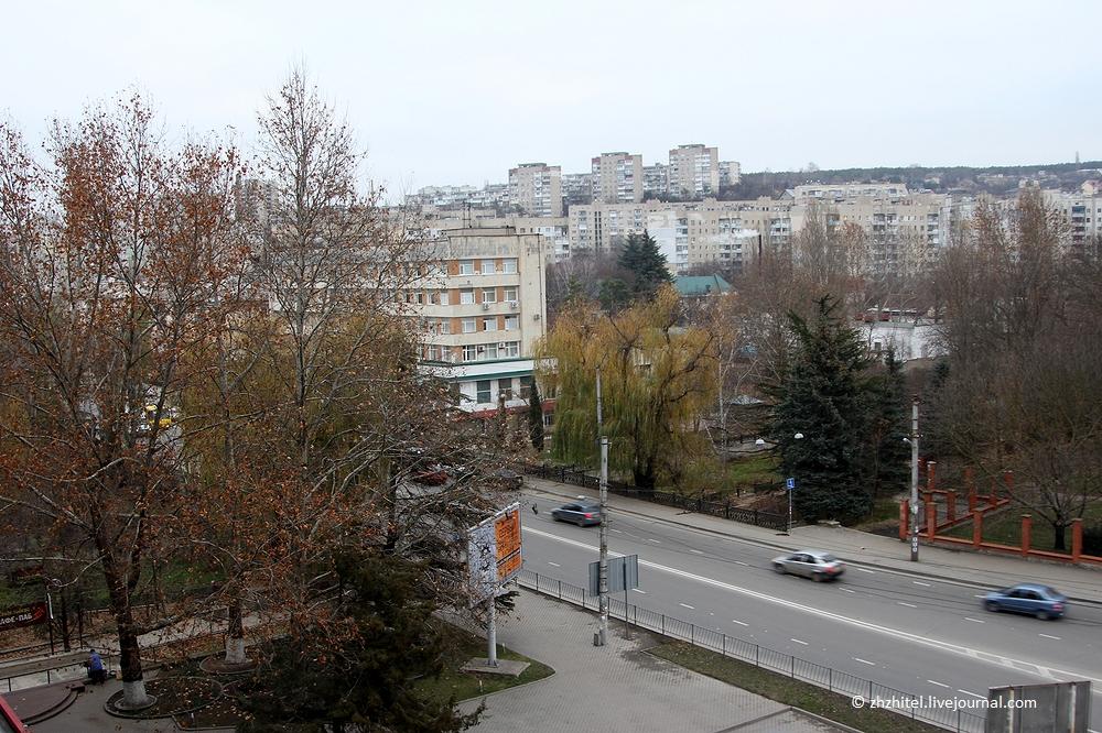 Гостиница «Москва» в Симферополе