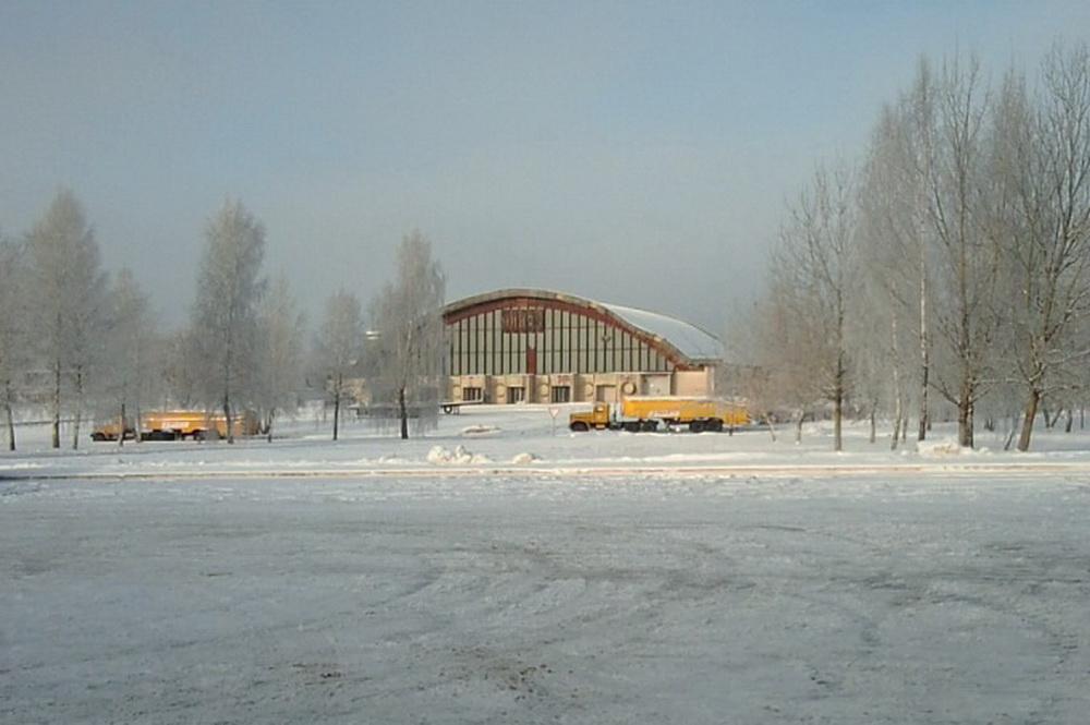 Старый терминал Национального аэропорта Минск