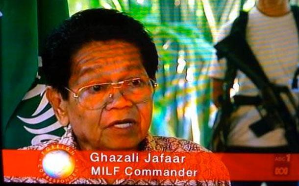 Газали Джафаар, командир MILF (наверняка имелись в виду не зрелые красотки, а Moro Islamic Liberatio