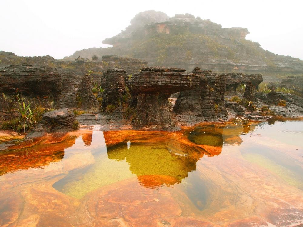 © Ariadna22822/depositphotos  Национальный парк Канайма расположен наюго-востоке Венесуэлы. И