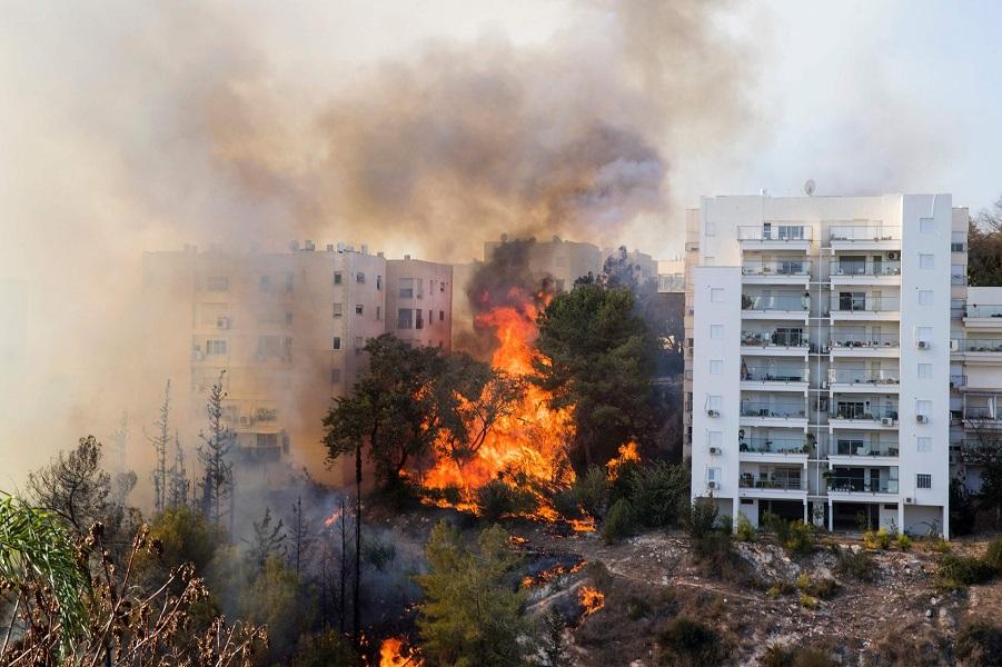 Это худшие пожары с 2010 года. Люди! Держитесь! Мы с вами душой и с сочувствием! Ситуация в стране д