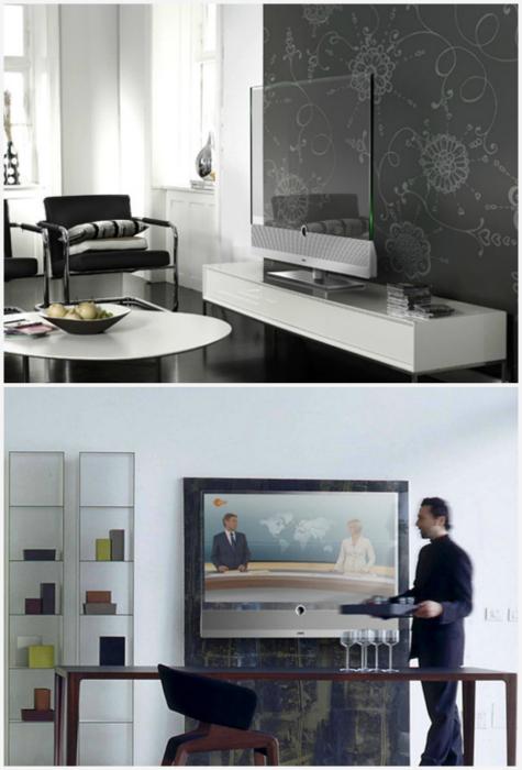 Прозрачный телевизор Panasonic. Абсолютно прозрачный экран с разрешением Full HD, который можно расп