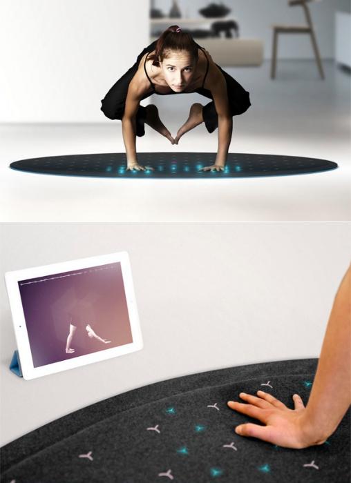 Коврик для йоги Tera fitness mat. С ковриком TERA fitness mat домашние тренировки станут гораздо про