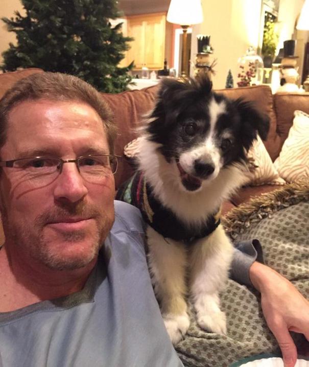 «Моему отцу не нравилась мысль о том, чтобы завести собаку. Пятнадцать лет спустя они лучшие друзья