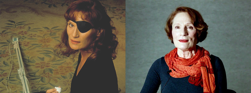 Фото: Moviestore Collection/REX/Shutterstock Уэнди Роби сыграла Надин Хёрли, одноглазую психически н