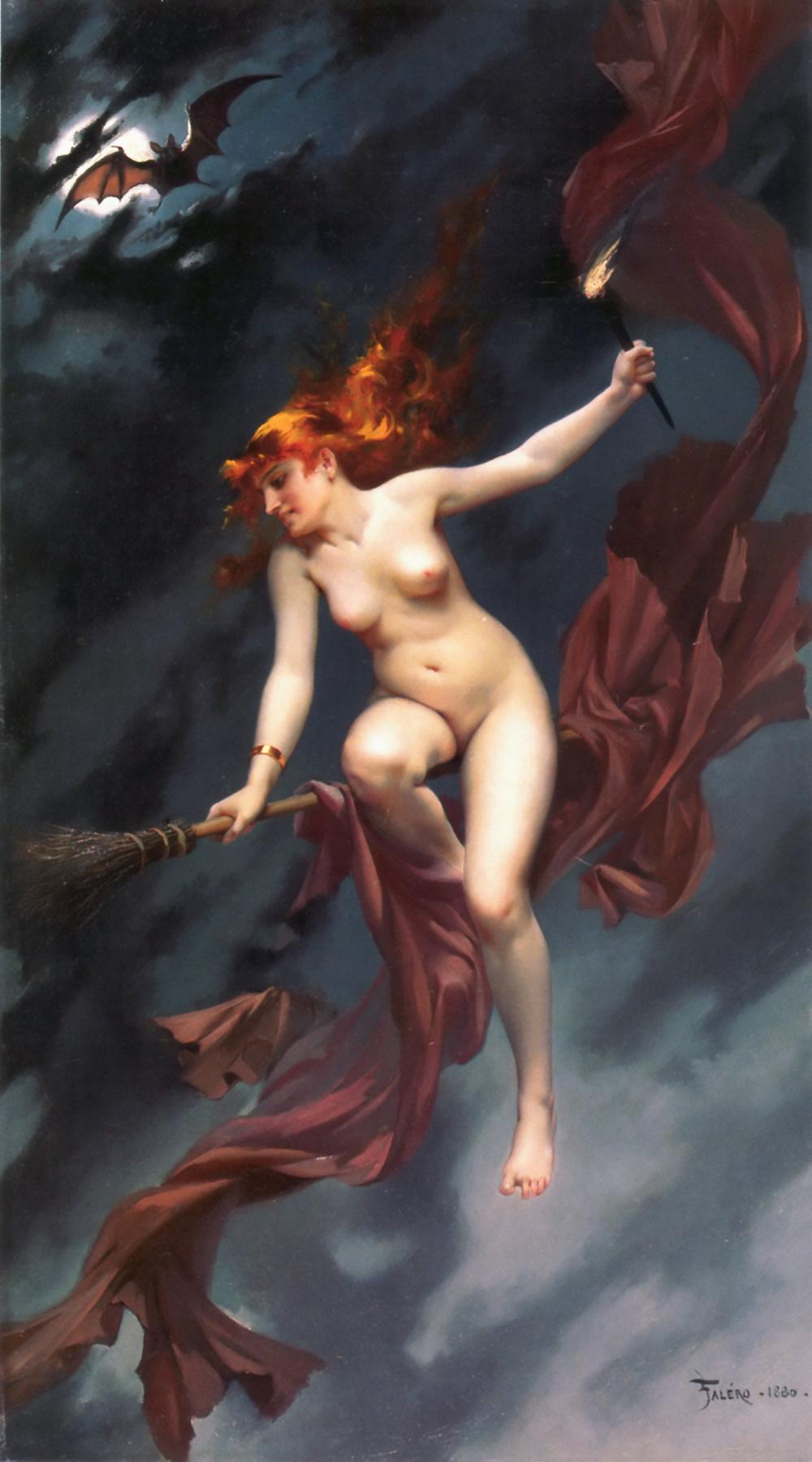 Шабаш ведьм. 1880 г.