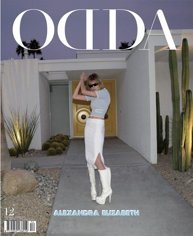 Линдси Лохан и другие для ODDA Magazine