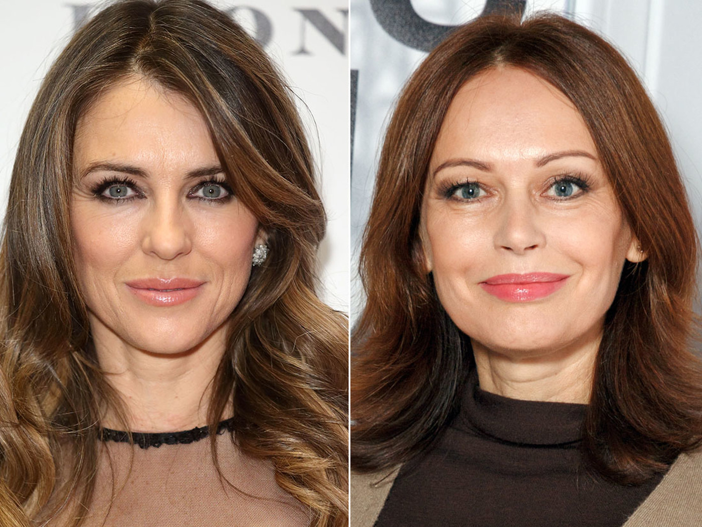 Элизабет Херли и Ирина Безрукова, 1965 года рождения, 51 год Обе актрисы не стареют ни душой, ни тел