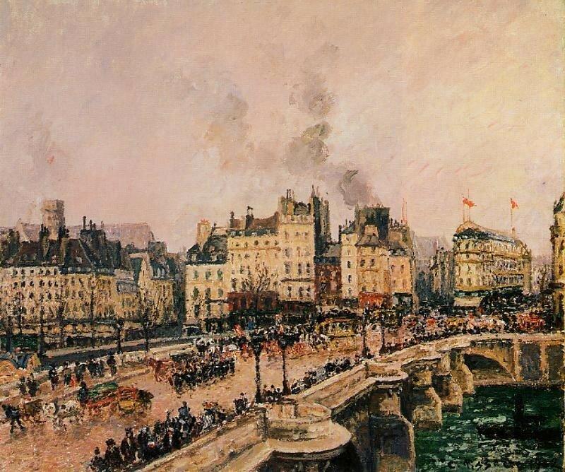 Pissarro_The_Pont-Neuf_1902