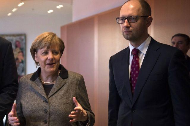 Путин обсудил сМеркель тему Украины