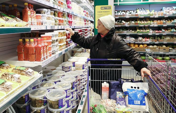 Жители России  заменили мясо ирыбу накартофель итыкву