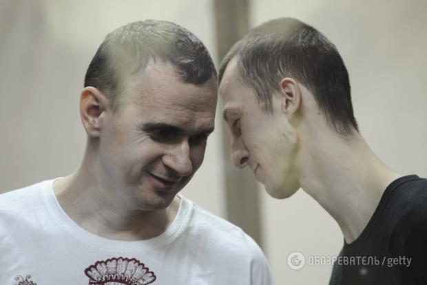 РФпредоставила документ оякобы русском гражданстве Сенцова иКольченко
