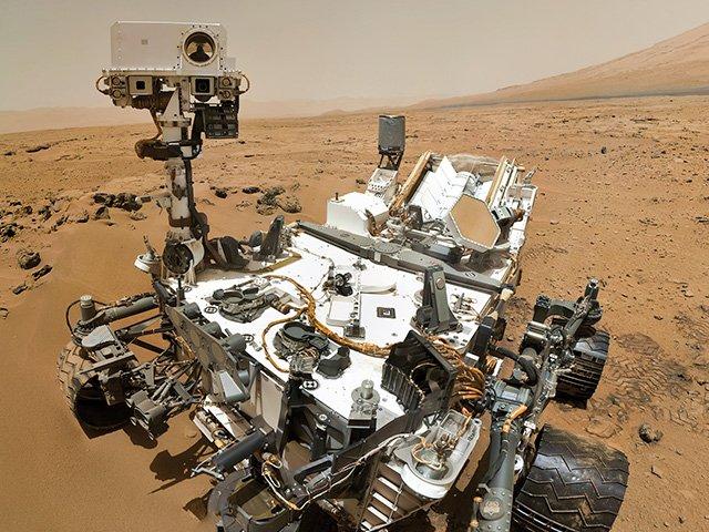 Работники NASA опубликовали фотографии штормов наМарсе