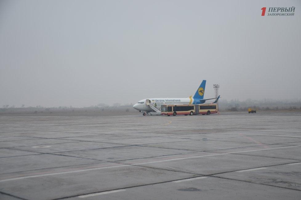 ВЗапорожье одна изавиакомпаний отменила регулярные рейсы вукраинскую столицу иМинск