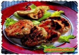 Котлетки для пикника из курицы