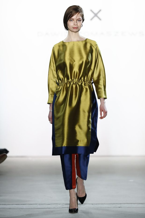 A vivid play with various layerings underlined the blithe character of this collection. Comfortable,