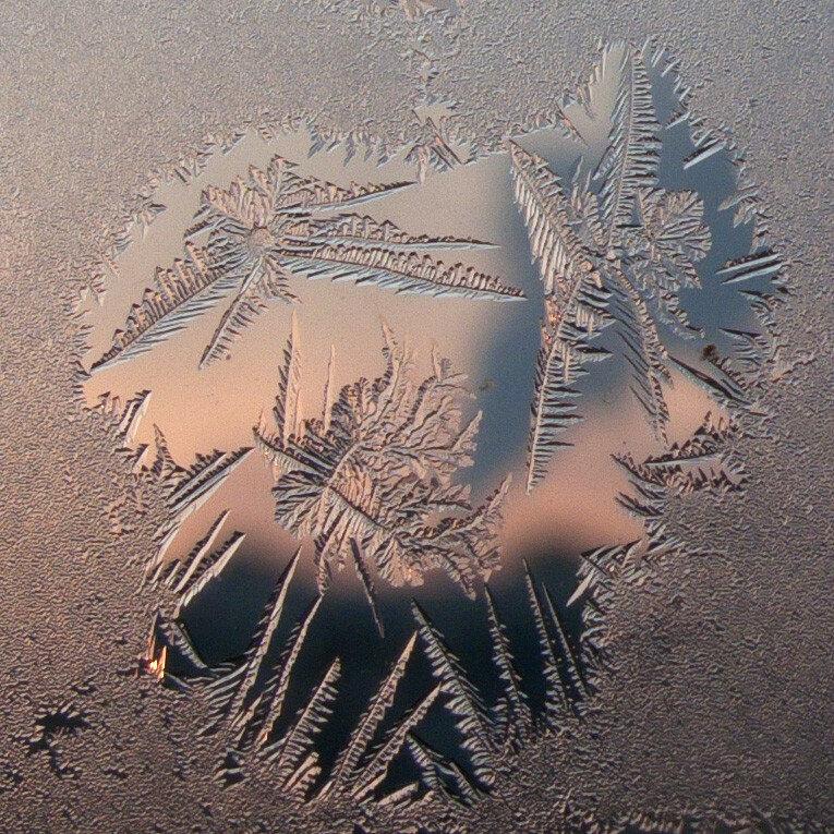 Окно в зимний закат